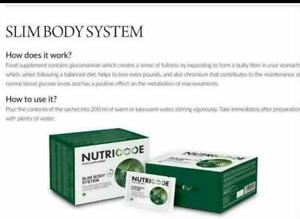 NUTRICODE SLIM BODY SYSTEM Trial NEW Slim Extreme - Gastric Band In A Sachet