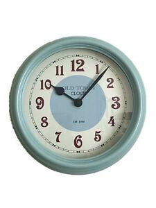 Vintage Retro Style Round Wall Clock Kitchen American Diner