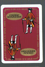 "Swap Playing Cards 1 VINT WIDE ADVT  "" COGNAC "" HENNESSY  DRINK  D218 GENT"