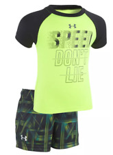 NEW Under Armour Speed Don't Lie T-Shirt and Shorts Set for Babies 18 Months