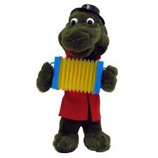 Krokodil Gena mit Ziehharmonika singend 25 cm Video Cheburashka Tscheburaschka