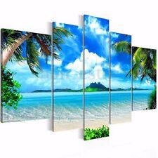 5PCS Canvas Print Seascape Beach Printing Modern Home Wall Decor Art Unframed US