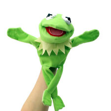 """12"""" Green Doll Hand Muppets Most Wanted Show Kermit the Frog Plush Puppet Toy"""