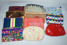 Ipsy makeup bag lot 11 cosmetic Ticket Graffiti Stamps Ice Cream
