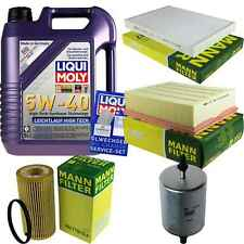 Inspection Kit Filter LIQUI MOLY Oil Oil 5L 5W-40 for Audi A4 Cabriolet 8H7