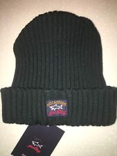 Paul & Shark Winter hat Capello Cap Beanie Dark Green