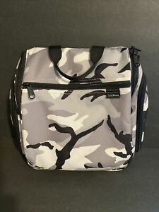 LL bean Toiletry Bag Travel Bag Personal Bag Camouflage Color