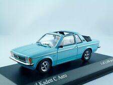 OPEL KADETT C Aero 1978 BLU CRISTALLO/Minichamps 1:43