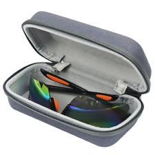 IKSNAIL Eyeglasses Sunglasses Case Portable Glasses Pouch Bag Box Sport Hard Box