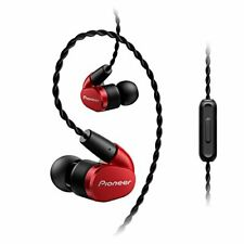 Pioneer Pioneer SE-CH5T earphone canal type / high responded red SE-CH5T-R