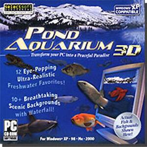 Pond Aquarium 3D  Create a Peaceful Paradise  Bass Trout Catfish