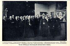 Erzbischof Dr.Fischer Köln * Eröffnung der christl.Ausstellung in Aachen * 1907