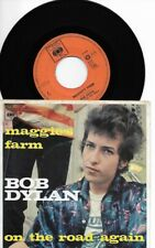 """Bob Dylan - Maggie's Farm - On the road again(7"""", Single) 1967 Dutch not to find"""