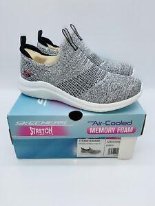 Skechers Women's Ultra Flex 2.0 Slip On Sneaker Shoes - GREY
