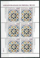 Portugal - Azulejos (II) Kleinbogen postfrisch 1981 Mi. 1535