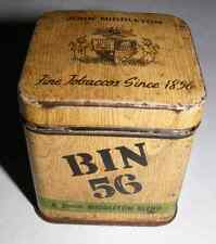 Vintage John Middleton Bin 56 Tobacco Tin