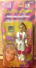 """BRITNEY SPEARS 6"""" BABY ONE MORE TIME DOLL NRFP WHITE & PINK PANTS PLAY ALONG"""