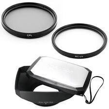 72mm 16:9 Wide Lens Hood,CPL,UV filtr fo CANON XL1S XL1 XL2 XHA1 XHG XH-A1 XH-G1