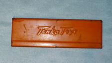 Original Vintage TONKA Pickup Truck TAILGATE, Old Orange with Script Tonka Toys