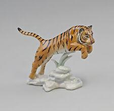 Springender Tiger Kämmer Porzellan-Figur 9944356
