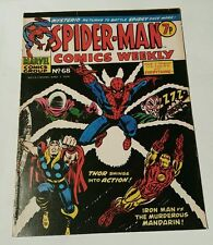 Spiderman comics weekly # 68 ( uk )