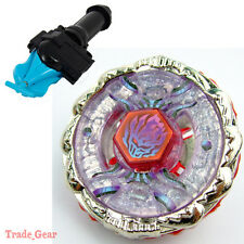 BB123 FUSION HADES BEYBLADE Masters Fusion Metal Fight+GRIP+BLUE SPIN LAUNCHER