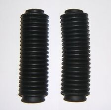 Fork Gaiters / Boots / Gaitors (Rubber) - Honda CB400N - Free UK P&P