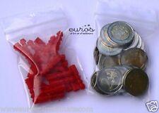 100 Buste - Bustine in plastica - Sacchetti Cerniera 60 x 80 mm