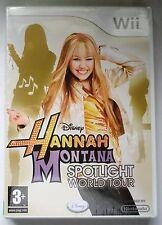 Hannah Montana Spotlight World Tour jeu wii neuf et scellés royaume-uni nintendo!