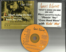 ANDERS OSBORNE & KEB' MO' What's Going on w/ 2 LIVE PROMO CD Single keb mo here