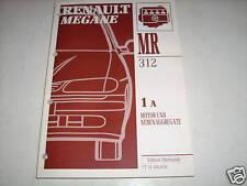 Workshop Manual Renault Megane Motor Stand 1995