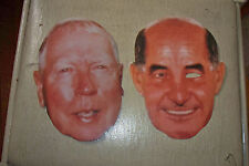 Green Bay Packers Jim Irwin Max McGee Cut Out Faces Pick & Save Promo 1998