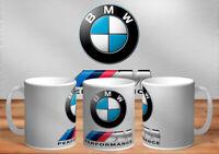 BMW OIL CAN MUG RETRO  COFFEE  #6 METAL/CLEAN