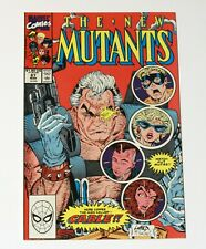 The New Mutants #87 (First Appearance of Cable) NM - MINT