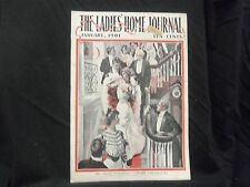 1901 JANUARY LADIES' HOME JOURNAL MAGAZINE - GREAT ILLUSTRATIONS & ADS- ST 1610