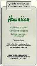vtg condom machine decal sticker vending NOS Hawaiian Multi Colored exotic