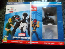 Disney Infinity Marvel Super Heroes Starter Pack 2.0 Nuevo Precintado PS Vita
