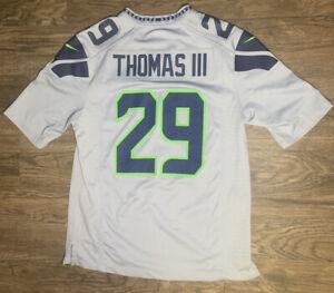 Earl Thomas III Seahawks Jersey Grey Size Medium
