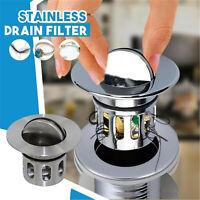 Universal Wash Basin Bounce Drainer Filter Anti-Clogging Bathroom Sink Drainer