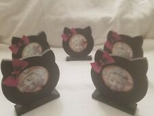 5 Piece Kitten Picture Frame. 3x3inch. Free Shipping in US!!