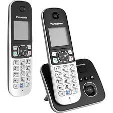 Panasonic KX-TG6822GB, analoges Telefon, schwarz