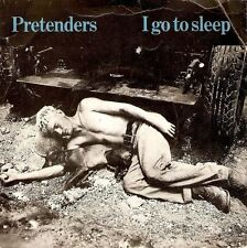 "THE PRETENDERS I Go To Sleep 7"" Single Vinyl Record 45prm Real 1981"