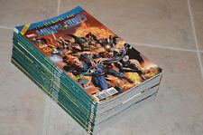 Lot 17 albums MARVEL STARS n°1 à 17 - Marvel Panini Comics / Shadowland, heroic