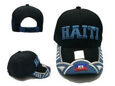 Haiti Bracelet Silicone Wrist Bands Jewelry //w Haitian Flag Baseball Cap Hat