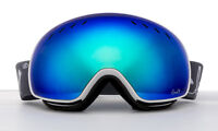Double Lens Ski Snowboard Goggles Anti-fog UV Skiing Winter Snow White Glasses