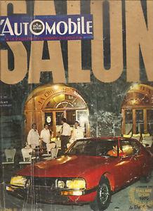 L'AUTOMOBILE 293 1970 BILAN F1 SALON DE L'AUTO TOUR AUTO 51 70 CITROEN SM MANTA