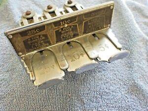 1936 1937 1938 Seeburg Symphonola Bookends J B C G XF BX H K Q REX Coin Slides +