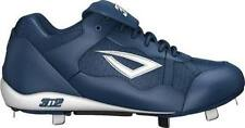 NEW 3N2 PRO METAL LOW BASEBALL CLEATS SPIKES MENS NAVY BLUE SIZE 13