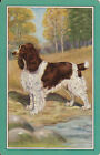 Vintage Swap/Playing Card - 1 SINGLE- DOG BY THE CREEK