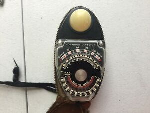 Light Meter Lot UNTESTED SOLD AS IS Gossen Sekonic Luna Pro F GE Deltz Norwood